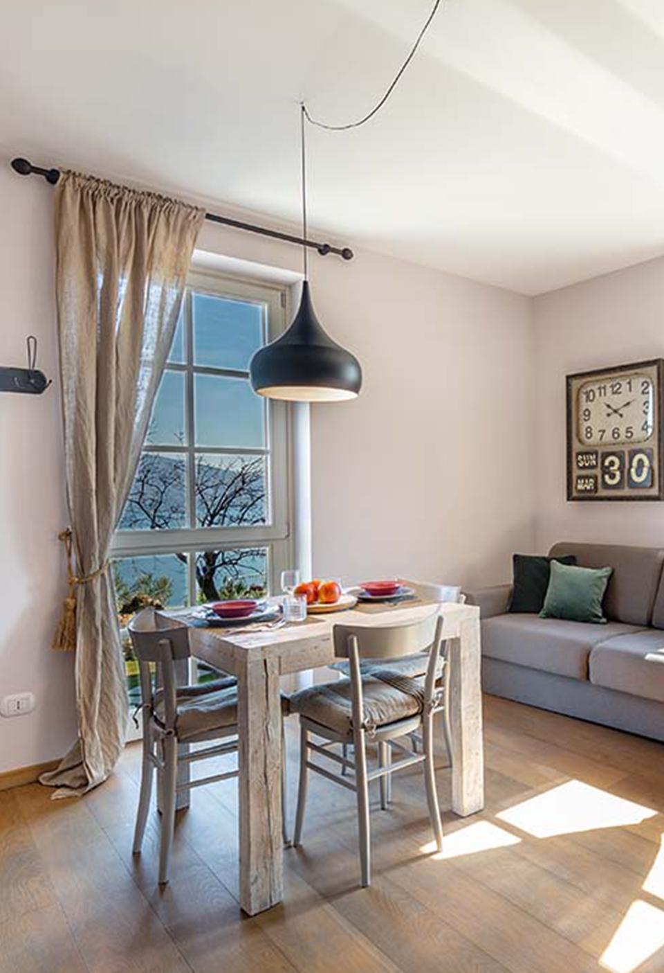 San Giorgio Apartaments, spazi interni